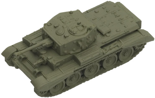 A Cromwell painted with Firefly Green (Late)