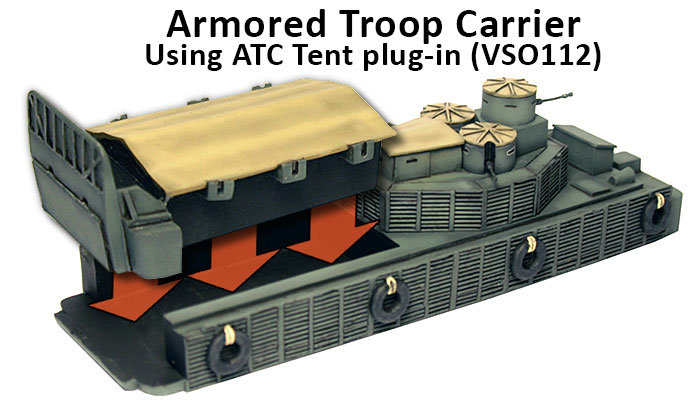 ATC with ATC Tent plug-in (VSO112)