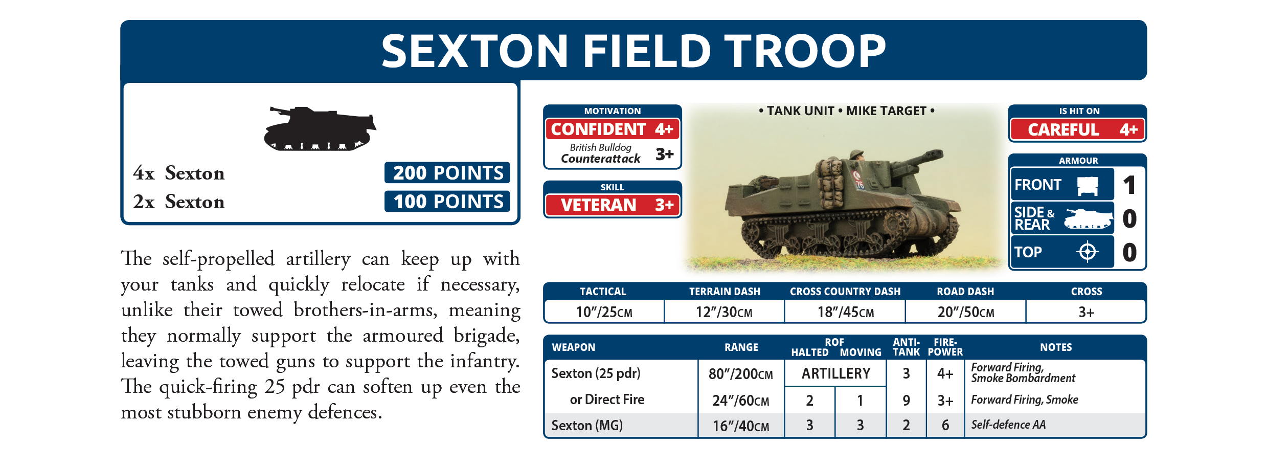 Sexton Field Troop