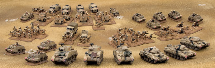 British Armoured Squadron