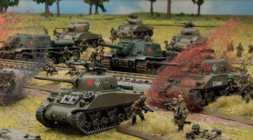 """Emcha"" lend-lease Sherman tanks"