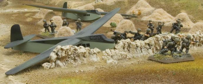 Fallschirmjäger landing
