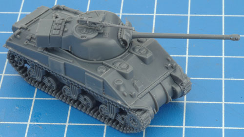 Assembling The Sherman Armoured Platoon
