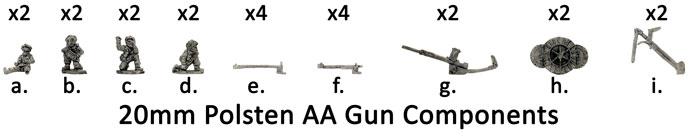 20mm Polsten AA Gun (Para) (BR530)