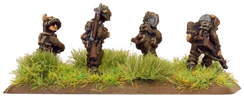 Pioneer Rifle team