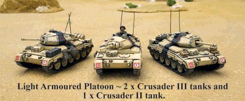 Crusader tanks