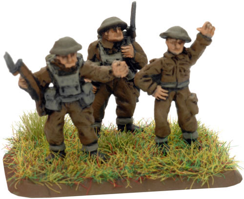 An example of a 2iC Command Rifle Team
