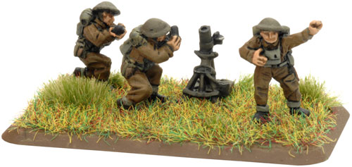"An example of a Company HQ Mortar 3"" Team"