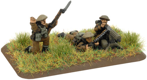 An example of a Vickers HMG with NCO figure