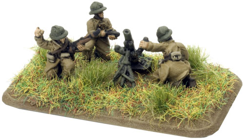 An example of a Mortar team
