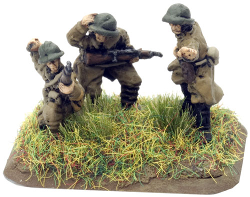 An example of a Command Rifle team