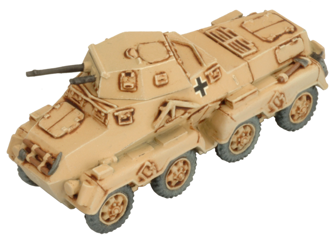 Sd Kfz 231 Heavy Scout Troop (GBX100)