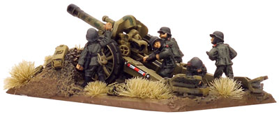 10.5cm leFH18 gun