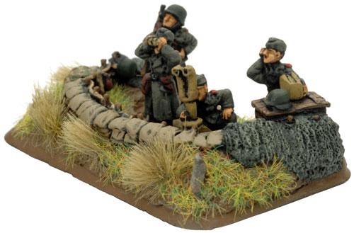 10.5cm Artillery Battery (GBX13) Staff team