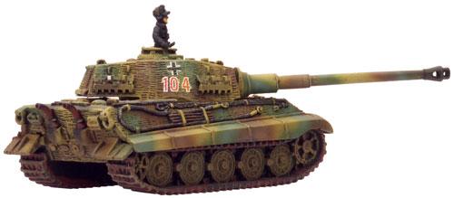 Königstiger (GBX14) with Henschel Turret