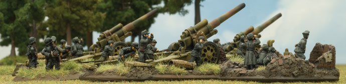 15cm sFH18 Heavy Howitzer Battery (GBX20)