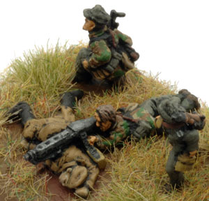 Sper Platoon Rifle/MG team