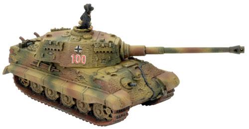Königstiger Platoon (GBX30), Königstiger 100