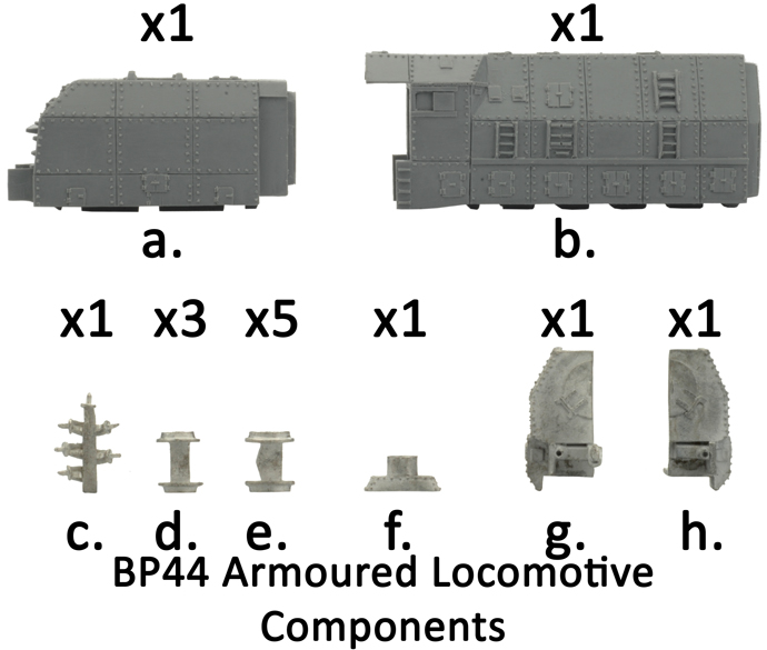 BP44 Armoured Train Locomotive (GBX62)