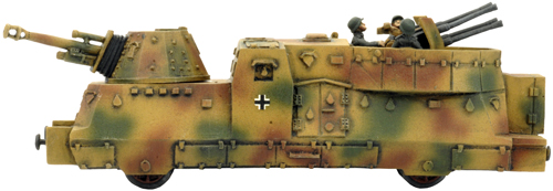 BP44 Armoured Train Anti-Aircraft Car (GBX65)