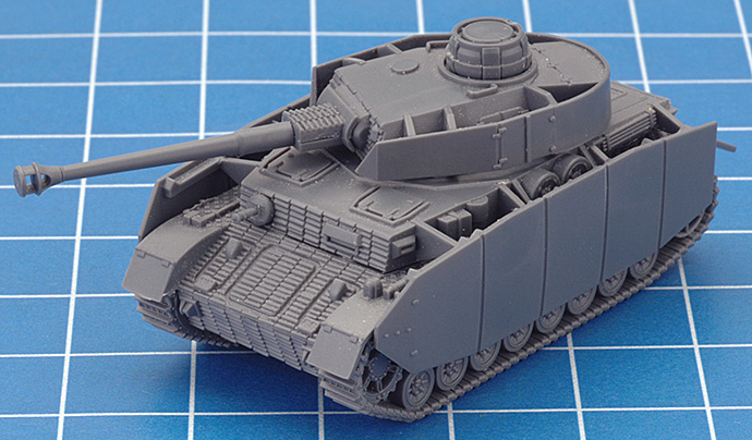Assembling The Plastic Panzer IV (Late)