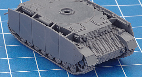 Assembling The Plastic Panzer IV H