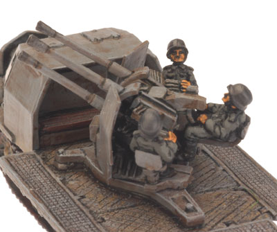 SdKfz 7/1 (Quad 2cm) (GE168), with Armoured Half-track
