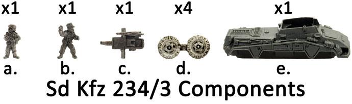 Sd Kfz 234/3 (7.5cm) (GE363)
