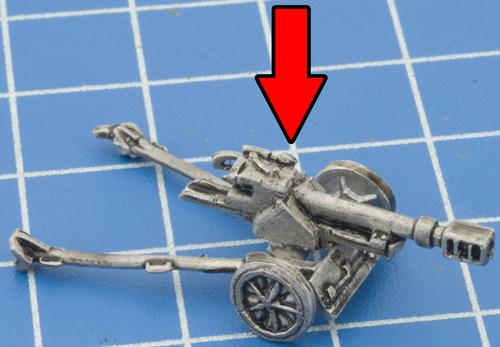 7.5cm PaK50 Gun (GE516)