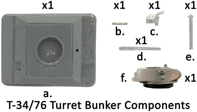 T-34/76 Turret Bunker (GE682)