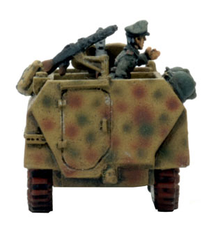 Von Saucken and his Sd Kfz 250