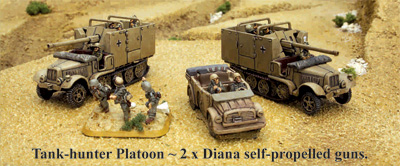 Tank-hunter Platoon with Dianas