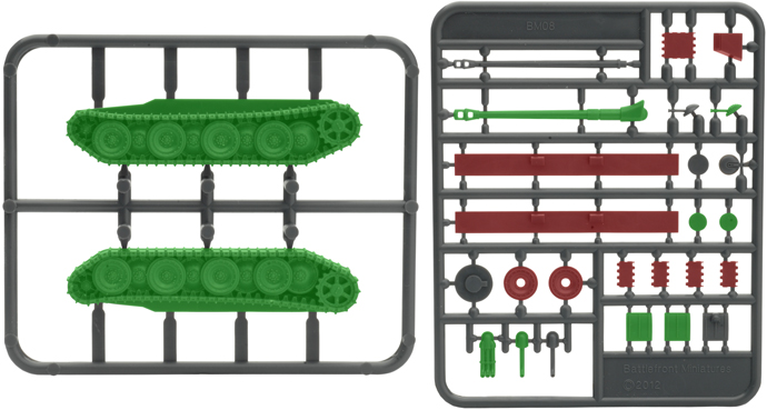 Plastic Panther Sprue (GSO199)