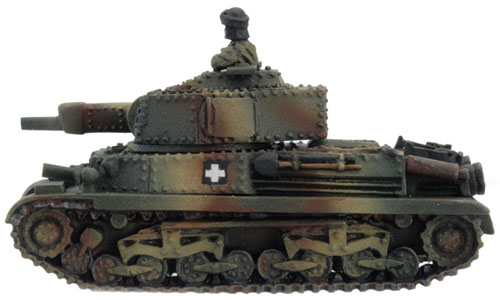 Turán I / II tank (HU030) - Turán II