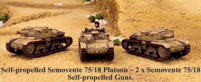 Semovente 75/18 Platoon