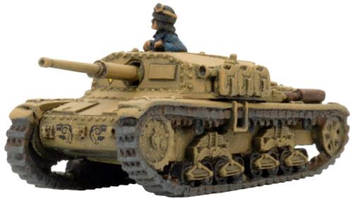 Semovente 75/34 Self-propelled gun (MM14)