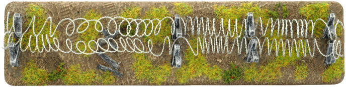 Barbed Wire Section