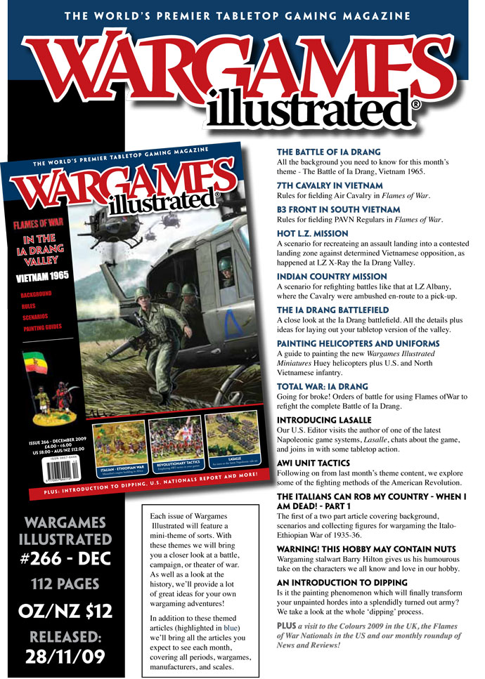 Wargames Illustrated Issue 266 Preview