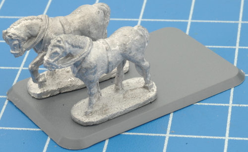 Horse-Drawn Limbers (XX651)