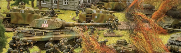 Panzer IVs and King Tigers