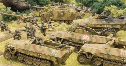 StuGs and Panzergrenadiers