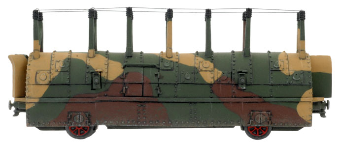 Armoured Train Command Car (PBX10)