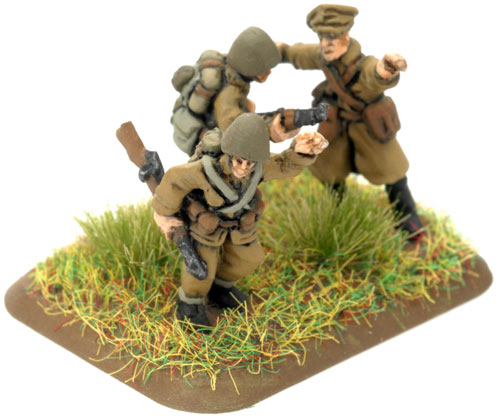An example of a Command Rifle Team for the Light Gun Battery