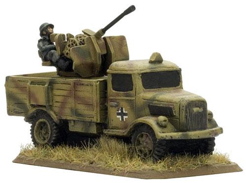 Polizei AA truck, Partisans & Polizei (SBX09)