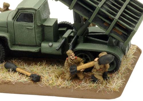 Heavy Rocket Mortar Battery (SBX32)