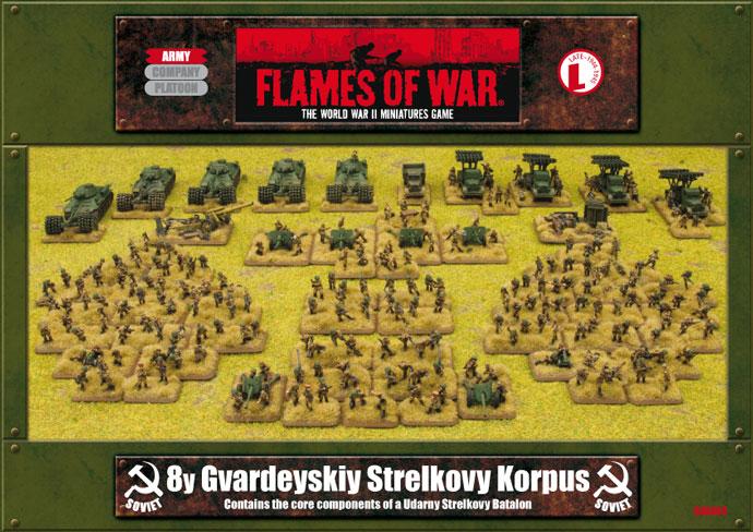 8y Gvardeyskiy Strelkovy Korpus Army Box