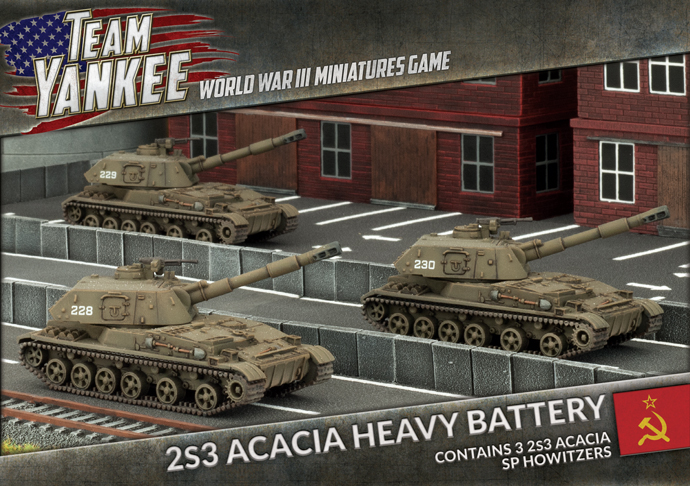Acacia Heavy SP Howitzer Battery (TSBX17)