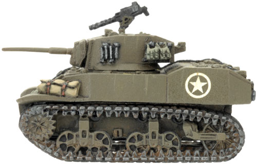 M5A1 Stuart Light Tank (UBX21)