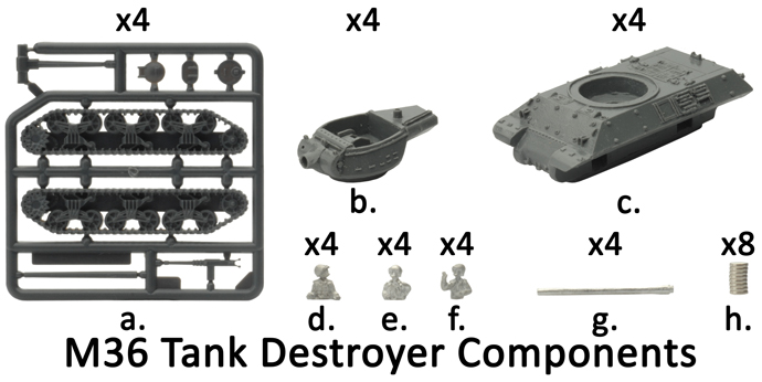 M36 Tank Destroyer Platoon (UBX30)