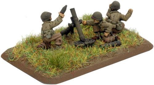 The Devil's Brigade Platoon 81mm Mortar Team (Optional) (US748)
